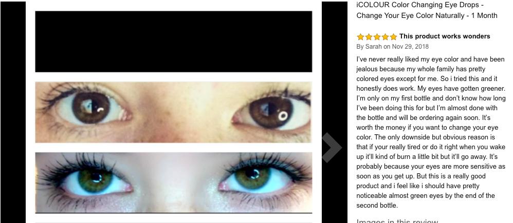 iColour eyedrops